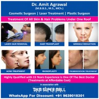 Dr Amit Agrawal | Cosmetic Surgeon | Skin Specialists Aligarh