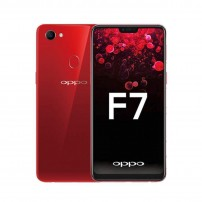 Oppo F7 (Red, 64GB) (4GB RAM) with 6.23-inch Super Full Screen, 25MP Primary+16MP Front Camera