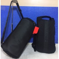 Gym Bag with Backpack Combo (High Quality) Black Color