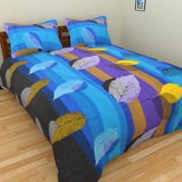 Cotton Bedsheets Online With 2 Pillow Covers