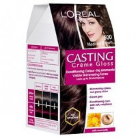 L'Oreal Paris Casting Creme Gloss, Medium Brown 500