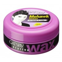 Gatsby Styling Wax, Extreme and Firm, For Men, 75g
