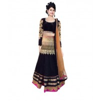 Exclusive  Designer  Mastani Black Lehenga