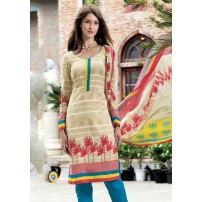 Elite Attire Pure Cotton Designer Salwar Suit Dupatta Dress Material Un-stitched