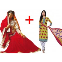 Designer Saree Buy 1 Get 1 Free