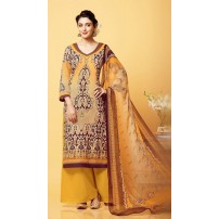 Pure Bamberg Chiffon, Digital Printed Suit