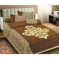 Chenille Bedsheet with 2 Pillow Covers