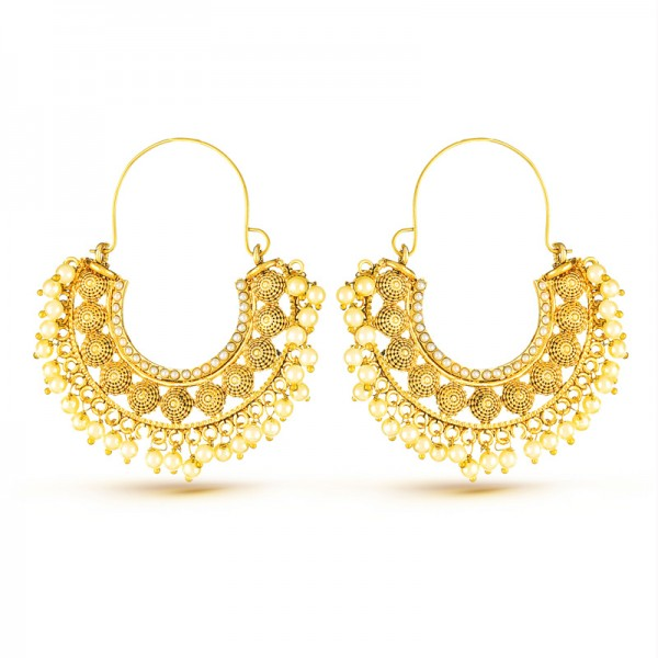 Alloy Elijah Earrings, Mix Metal Earrings
