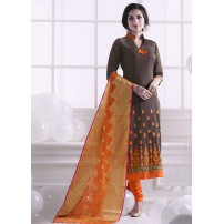 Latest Salwar Suit, Semi-Stitched Suit